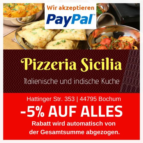. Pasta   Pizzeria Sicilia Bochum   Hattinger Str  353   44795 Bochum